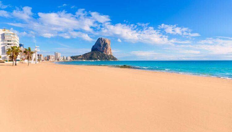 Calpe playa Arenal Bol